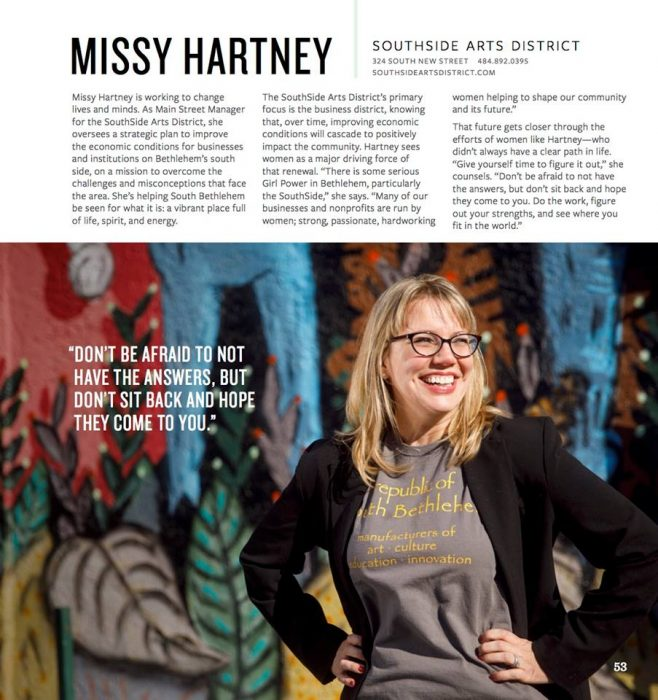 Missy Hartney And The SouthSide Arts District