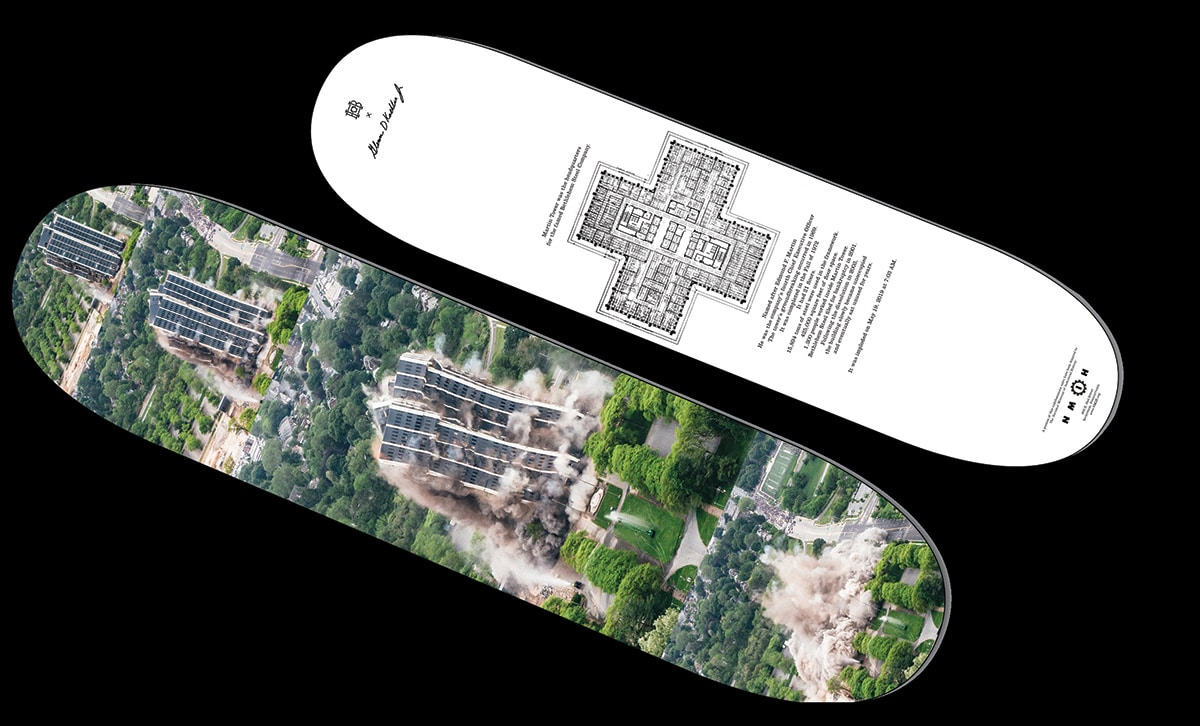 Bethlehem's Martin Tower Commemorated Through Limited Edition Skate Deck In Partnership With Homebase Skateshop And National Museum Of Industrial History
