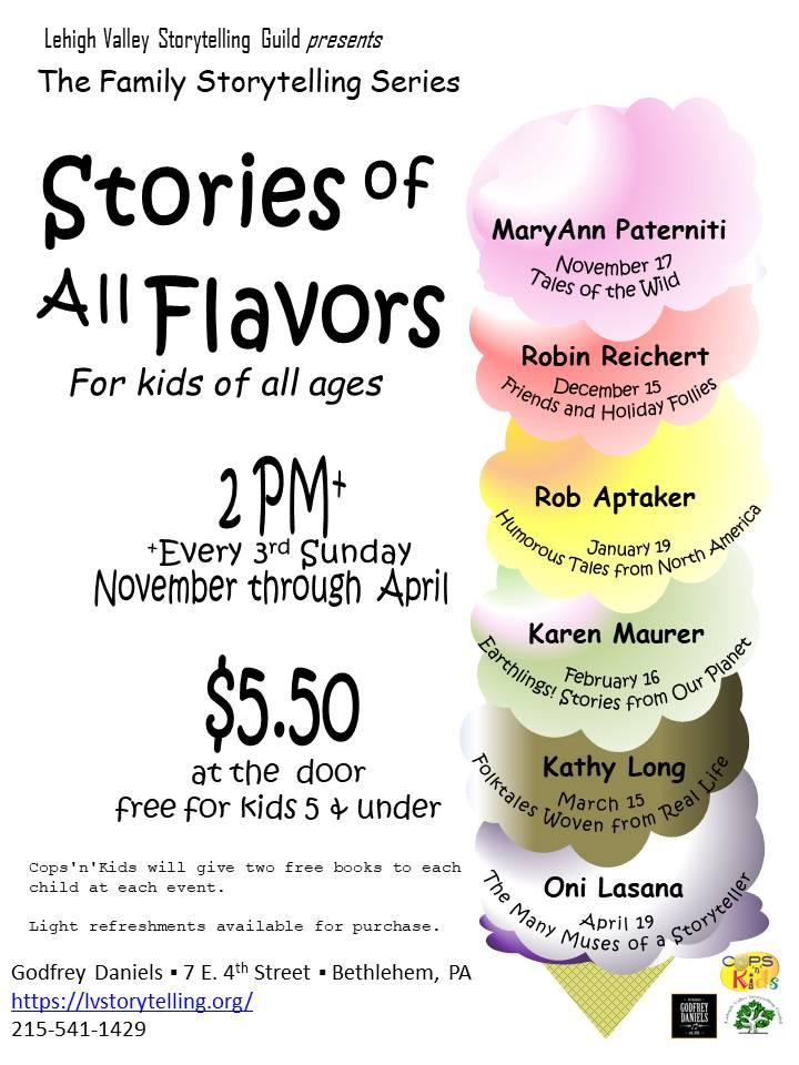 Family Storytelling Series: Stories of All Flavors