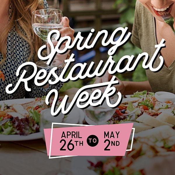 Spring Restaurant Week 2021